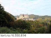 Замок Вианден, Люксембург (2014 год). Стоковое фото, фотограф Татьяна Крамаревская / Фотобанк Лори