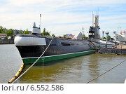 Купить «Калининград, подводная лодка Б-413», фото № 6552586, снято 16 мая 2014 г. (c) Окунев Александр Владимирович / Фотобанк Лори