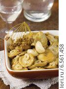Солёные грибы - закуска к водке. Стоковое фото, фотограф Александр Курлович / Фотобанк Лори