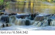 Купить «Каскад реки, таймлапс, длинная выдержка», видеоролик № 6564342, снято 20 октября 2014 г. (c) Кекяляйнен Андрей / Фотобанк Лори
