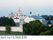 Золотое кольцо. Суздаль. Покровский монастырь, эксклюзивное фото № 6564830, снято 2 августа 2014 г. (c) Литвяк Игорь / Фотобанк Лори