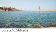 Набережная на острове Крит, Греция (2012 год). Стоковое фото, фотограф Виктория Кузьменко / Фотобанк Лори