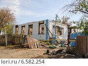 Село Петровка после расстрела украинской армией  (2014 год). Стоковое фото, фотограф Копылов Сергей / Фотобанк Лори