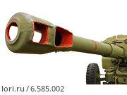 Артиллерийская пушка (2013 год). Редакционное фото, фотограф Винокуров Александр / Фотобанк Лори