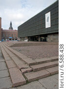 Купить «Рига. Музей оккупации Латвии», эксклюзивное фото № 6588438, снято 11 октября 2014 г. (c) Svet / Фотобанк Лори