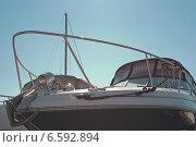 Фрагмент катера. Стоковое фото, фотограф Лукаш Дмитрий / Фотобанк Лори