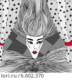 Кровавая. Стоковая иллюстрация, иллюстратор Борисенко Анастасия / Фотобанк Лори