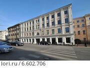 Купить «Петровка, 16, (В этом здании расположен Государственный музей истории ГУЛАГа).Москва», эксклюзивное фото № 6602706, снято 27 октября 2014 г. (c) lana1501 / Фотобанк Лори