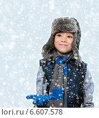 Мальчик в шапке. Стоковое фото, фотограф Paleka / Фотобанк Лори