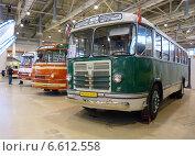 Ретроавтобусы советской эпохи (2014 год). Редакционное фото, фотограф Данила Васильев / Фотобанк Лори