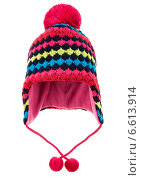 Купить «Children's winter hat», фото № 6613914, снято 1 октября 2014 г. (c) Андрей Армягов / Фотобанк Лори