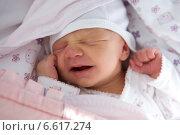 A portrait of an infant. Стоковое фото, агентство BE&W Photo / Фотобанк Лори