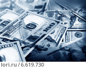 Купить «Американские доллары», фото № 6619730, снято 11 июля 2014 г. (c) ElenArt / Фотобанк Лори