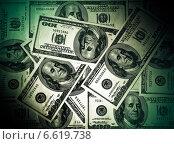 Купить «Американские доллары», фото № 6619738, снято 6 октября 2019 г. (c) ElenArt / Фотобанк Лори