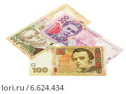 Купить «Украинские гривны», фото № 6624434, снято 4 ноября 2014 г. (c) Игорь Веснинов / Фотобанк Лори