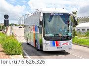 Купить «Irisbus Domino HDH», фото № 6626326, снято 30 июля 2014 г. (c) Art Konovalov / Фотобанк Лори