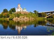 Храм на холме, Белая Церковь, Украина (2014 год). Стоковое фото, фотограф ВЛАДИМИР КУШПИЛЬ / Фотобанк Лори