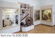 Купить «Валдай. Интерьер одного из залов Музея уездного города», фото № 6630930, снято 21 марта 2018 г. (c) FotograFF / Фотобанк Лори