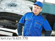 car repairman auto mechanic. Стоковое фото, фотограф Дмитрий Калиновский / Фотобанк Лори