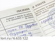 Купить «Сведения о работе», эксклюзивное фото № 6633122, снято 5 ноября 2014 г. (c) Наталья Осипова / Фотобанк Лори