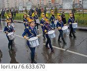 Купить «Русский марш в Москве. Барабанщицы», фото № 6633670, снято 4 ноября 2010 г. (c) Илья Галахов / Фотобанк Лори