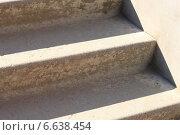Фрагмент старых каменных ступеней. Стоковое фото, фотограф Сергей Боженов / Фотобанк Лори