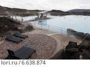 Купить «Природная купальня Myvatn в Исландии (Северная лагуна)», фото № 6638874, снято 21 июня 2014 г. (c) Anna P. / Фотобанк Лори