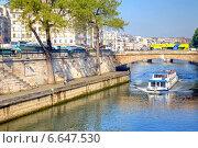 Купить «Париж, городской пейзаж», фото № 6647530, снято 30 апреля 2014 г. (c) Parmenov Pavel / Фотобанк Лори