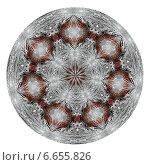 Купить «Круг с декоративным узором», иллюстрация № 6655826 (c) Илюхина Наталья / Фотобанк Лори