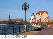 Купить «Рыбная деревня. Калининград», эксклюзивное фото № 6656026, снято 4 ноября 2014 г. (c) Svet / Фотобанк Лори