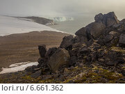 Купить «Валуны на берегу Северного Ледовитого океана», фото № 6661362, снято 6 августа 2013 г. (c) Николай Гернет / Фотобанк Лори