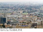 Купить «Вид на центр Москвы с небоскреба в Москва-Сити», фото № 6664314, снято 28 августа 2014 г. (c) Екатерина Брудная-Челядинова / Фотобанк Лори