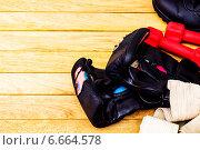 Принадлежности   для занятий единоборствами. Стоковое фото, фотограф Дмитрий Бодяев / Фотобанк Лори
