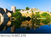 Купить «Puente de Alcantara in Toledo. Spain», фото № 6667210, снято 23 августа 2013 г. (c) Яков Филимонов / Фотобанк Лори