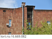 Купить «Страстной бульвар, дом 6, строение 2. Москва», эксклюзивное фото № 6669082, снято 11 августа 2014 г. (c) lana1501 / Фотобанк Лори