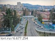Улица Донская, Город Сочи (2013 год). Редакционное фото, фотограф Nina Zotina / Фотобанк Лори