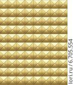 Купить «Золотистая металлическая поверхность», иллюстрация № 6705554 (c) Голубев Андрей / Фотобанк Лори