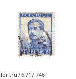 Купить «Почтовая марка Бельгии с портретом короля Альберта I, 1919 год», иллюстрация № 6717746 (c) Евгений Ткачёв / Фотобанк Лори