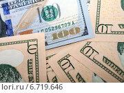 Купить «Фон из американских долларов», фото № 6719646, снято 27 ноября 2014 г. (c) Момотюк Сергей / Фотобанк Лори