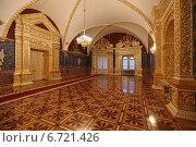 Святые сени Грановитой палаты в Большом Кремлевском дворце, Москва (2014 год). Редакционное фото, фотограф Алексей Гусев / Фотобанк Лори