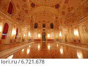 Интерьер Александровский зал Большого Кремлевского дворца, Москва (2014 год). Редакционное фото, фотограф Алексей Гусев / Фотобанк Лори