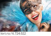 Купить «Masquerade mask», фото № 6724022, снято 25 ноября 2014 г. (c) Константин Юганов / Фотобанк Лори