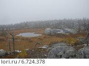 Вид с вершины горы Воттоваара. Стоковое фото, фотограф Владимир Семенов / Фотобанк Лори