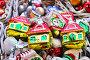 Разноцветные ёлочные игрушки, эксклюзивное фото № 6726962, снято 28 ноября 2014 г. (c) lana1501 / Фотобанк Лори