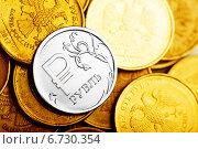 Купить «Российские рубли», фото № 6730354, снято 23 ноября 2014 г. (c) Валерия Потапова / Фотобанк Лори