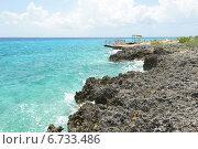 Купить «Солнечный день на побережье Карибского моря. Куба», фото № 6733486, снято 17 июня 2014 г. (c) Александр Овчинников / Фотобанк Лори