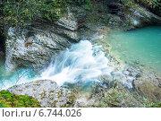 Купить «Водопады Гуамского ущелья», фото № 6744026, снято 28 октября 2014 г. (c) Типляшина Евгения / Фотобанк Лори