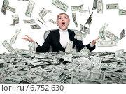 Купить «Money rain», фото № 6752630, снято 7 октября 2014 г. (c) Дмитрий Эрслер / Фотобанк Лори