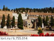 Купить «Montjuic Cemetery in Barcelona», фото № 6755014, снято 20 июля 2014 г. (c) Яков Филимонов / Фотобанк Лори