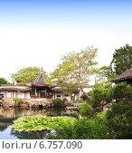 Купить «Garden of Fisherman in Suzhou, China», фото № 6757090, снято 24 сентября 2018 г. (c) Лукиянова Наталья / Фотобанк Лори